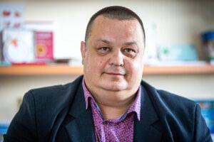 Ján Mikas, head of the Public Health Authority