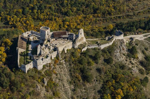 Čachtice Castle.
