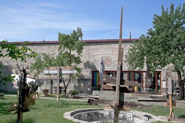 The Záhrada cultural centre in Banská Bystrica.
