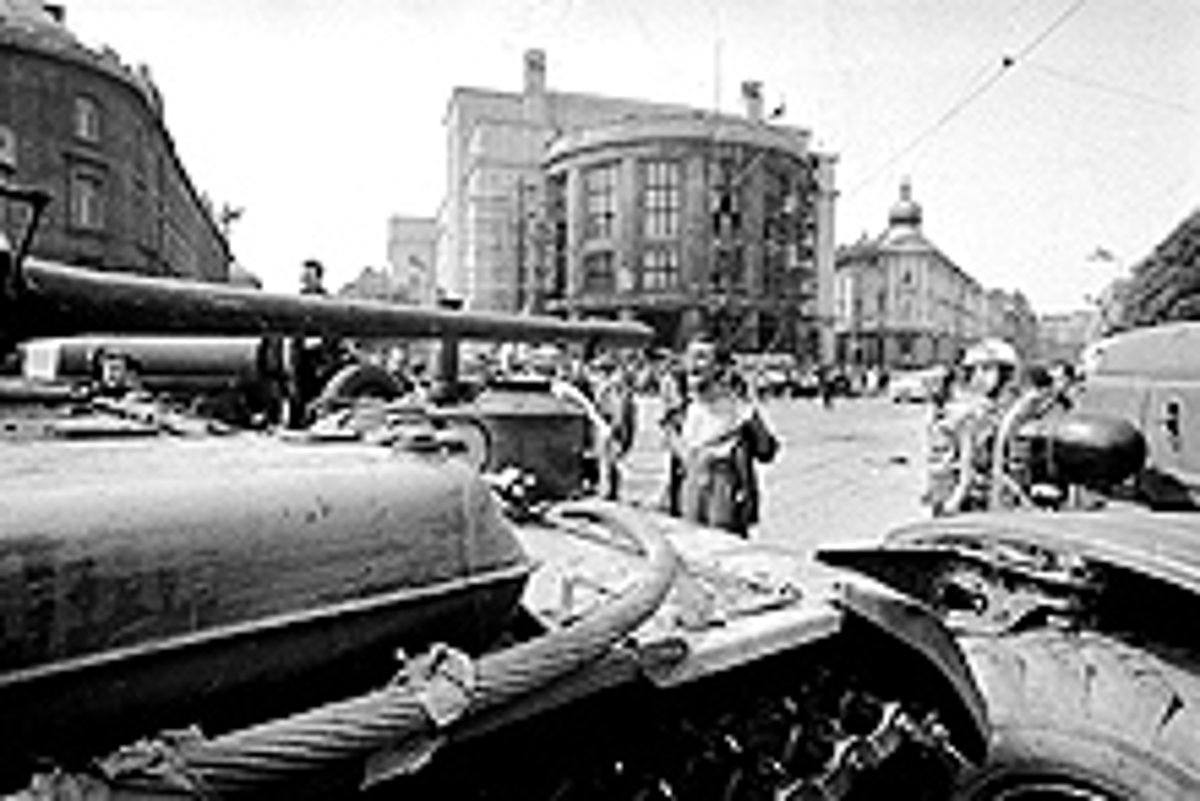 Prague Spring: two thousand tanks against two thousand words 14