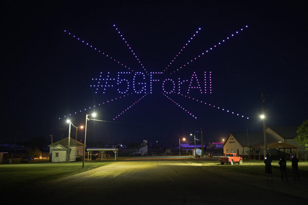 T-Mobile celebrated the expansion of 5G into small towns across the US.