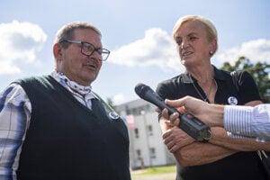 Jozef Kuciak and Zlatica Kušnírová
