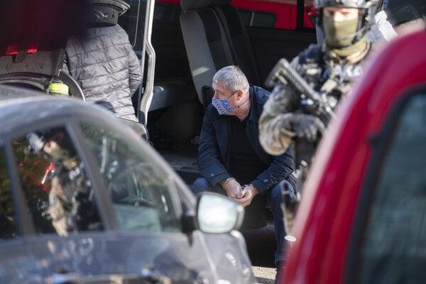 NAKA arrestin former special prosecutor Dušan Kováčik.