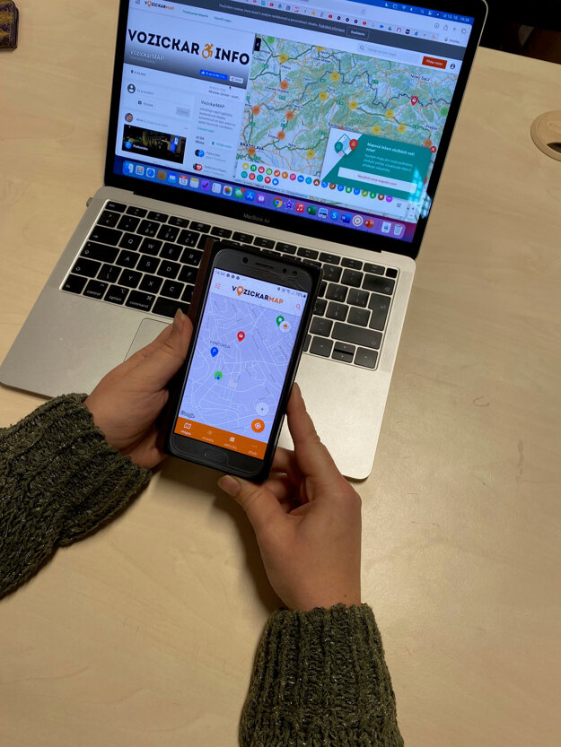 An app was designed by Letmo to help wheelchair users.