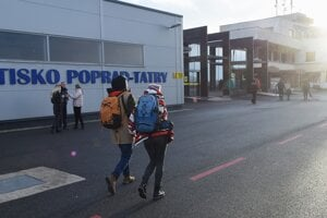 The Poprad-Tatry aiport is a gate to the High as well as the Low Tatra mountains.
