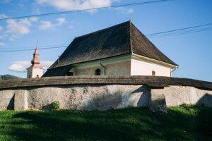 The church in Chyžné.