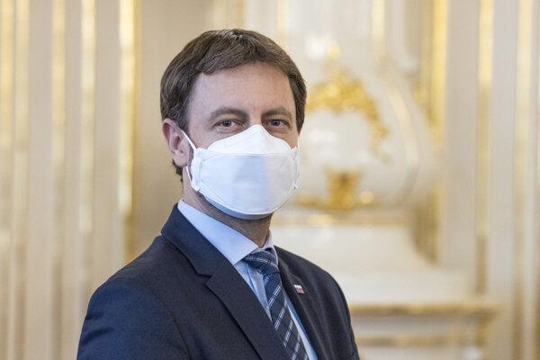 Acting Health Minister Eduard Heger