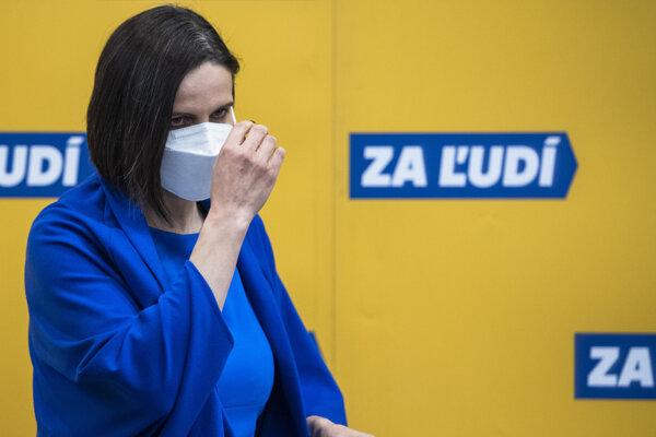 Mária Kolíková resigned from the justice minister post on March 23.