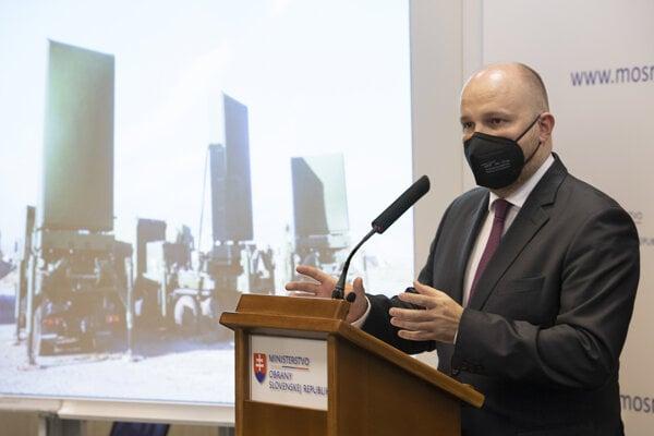 Defence Minister Jaroslav Naď