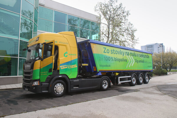 The eco-truck using pure biodiesel will soon be put on Slovak roads.