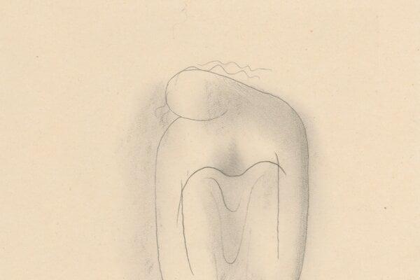 Mikuláš Galanda: Unavená Žena (Tired Woman)