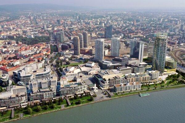 The skyline of Bratislava is changing.