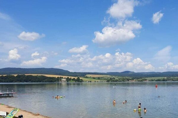 The Teplý Vrch dam