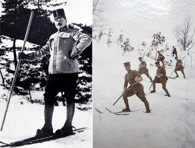 Major Theodor Edler von Lerch, born and raised in Bratislava, is considered the father of skiing in Japan.