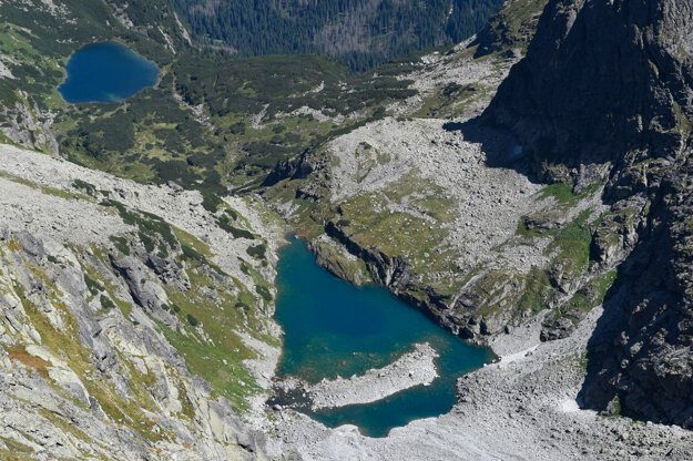 Rysy is one of the most visited peaks in the Tatras National Park.