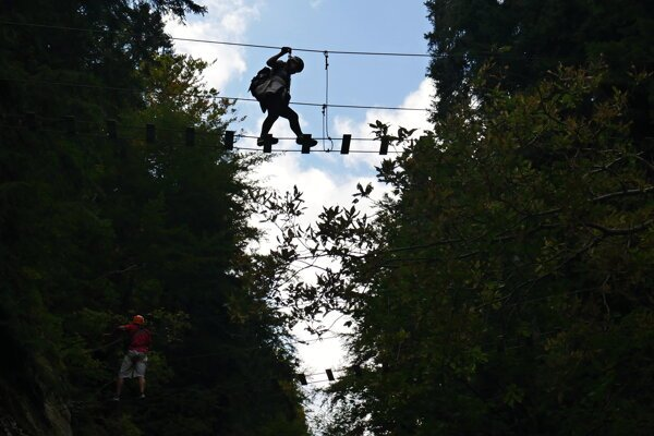 A via ferrata in Martin was closed this week. It will remain closed until October 31.