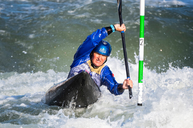 Two-time Olympic winner Elena Kaliská ended her career in Čunovo.
