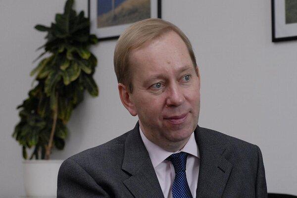 Britain's ambassador to Slovakia, Michael Roberts.
