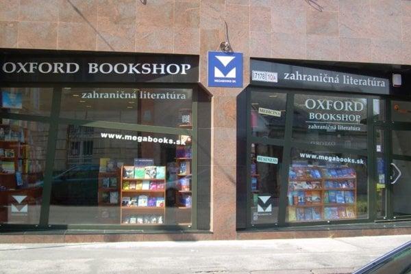 Oxford Bookshop on Rajská Street