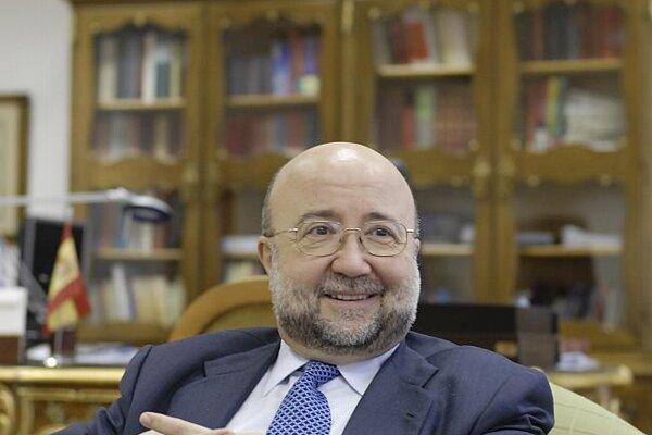 Spanish Ambassador José Ángel López Jorrín.