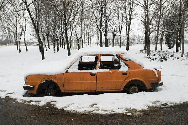 Nice little runner: this car could now be worth €2000
