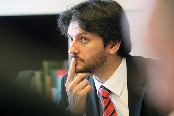 Interior Minister Róbert Kaliňák