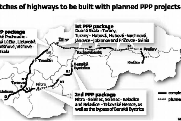 Only the second of the three public-private partnership highway projects is fully underway.