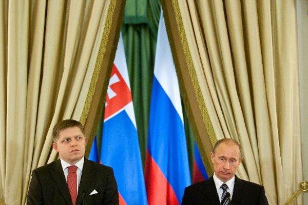 PM Robert Fico met Russian PM Vladimir Putin.