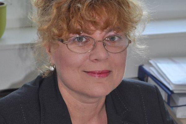 Soňa Strachotová, executive director of SAFS
