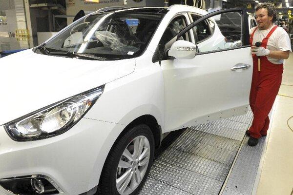 A new Hyundai model being produced at the Kia Motors Slovakia plant.