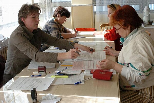 Labour offices are often the first stop for the jobless.