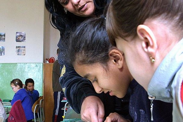 Roma students often face segregation.