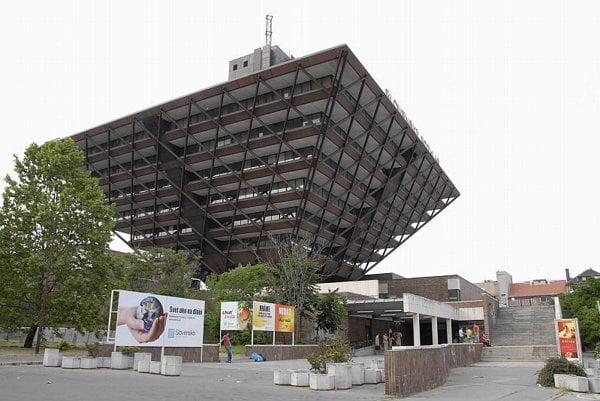 The Slovak Radio building  is an exceptional work by Štefan Svetko.