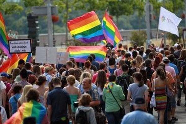 Dúhový Pride march 2015