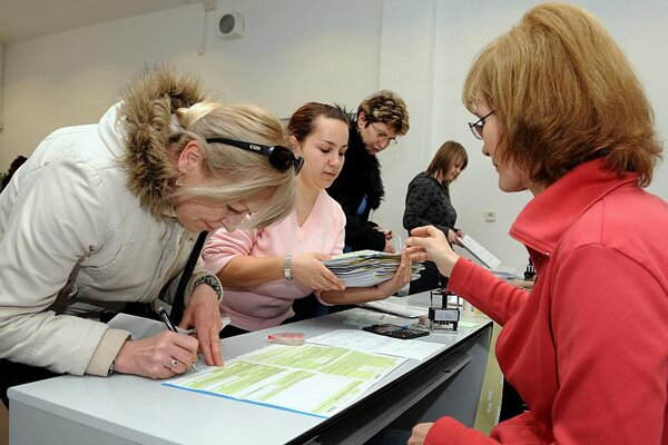 About 1 million tax returns are submitted in Slovakia.