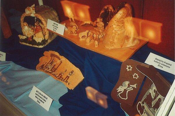 Nativity scenes in Hodonín.