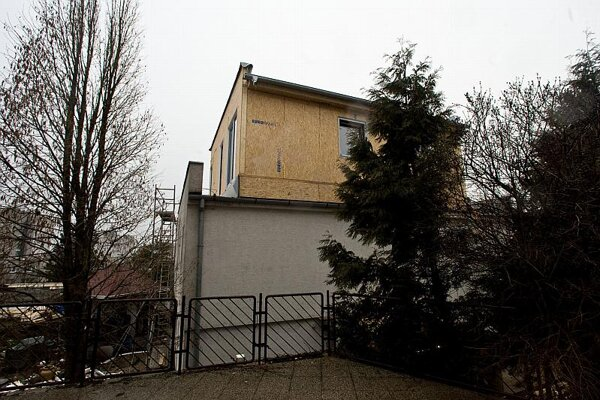 One example of illegal construction in Slovakia.