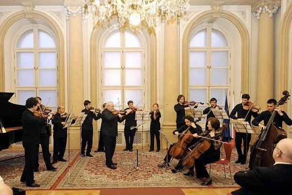 The Slovak Chamber Orchestra honours Cikker.