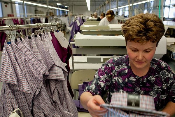 Italian cooperation in apparel production is sought.