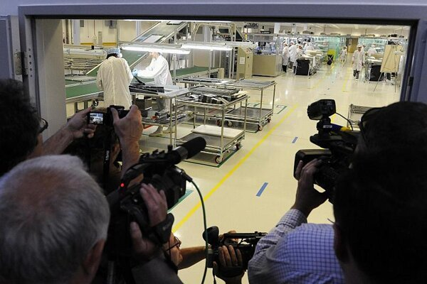 AU Optronics opened its plant in Trenčín in June.
