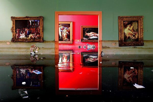 Museum, by David LaChapelle.