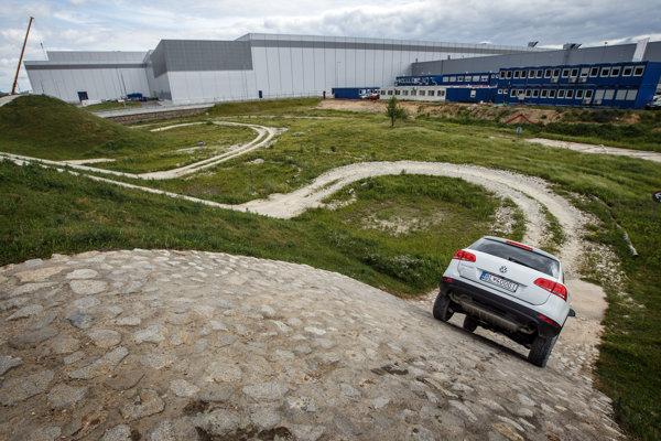 The plant of the Volkswagen carmaker in Bratislava.