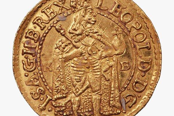 A Leopold I ducat.
