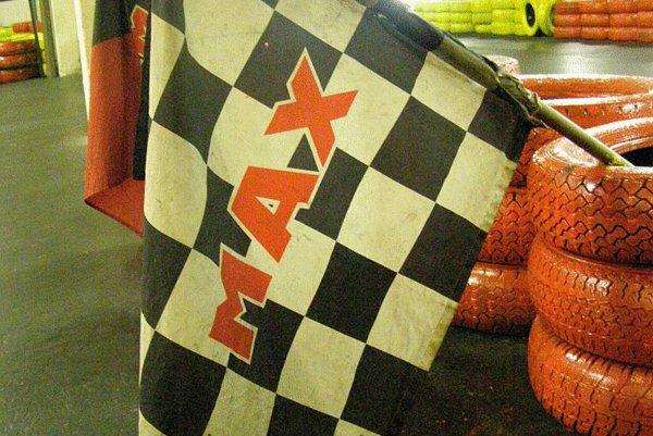 A chequered flag awaits kart racers in Ivanka pri Dunaji.