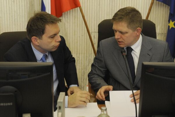Finance Minister Peter Kažimír and PM Robert Fico are proposing higher bank levies.