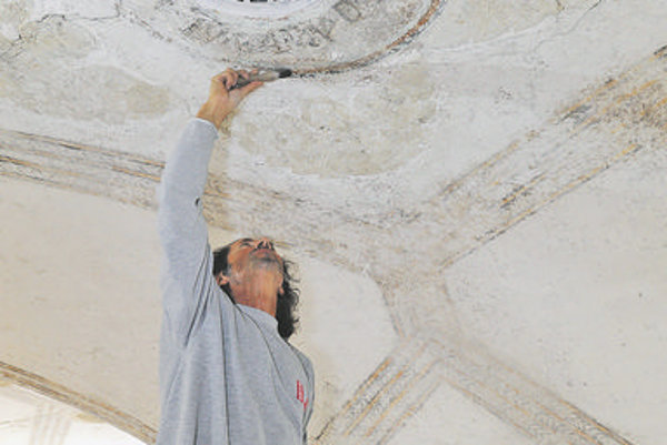 The Renaissance frescoes uncovered in Beluša
