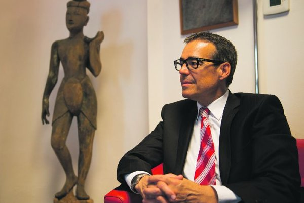Swiss Ambassador Christian Fotsch