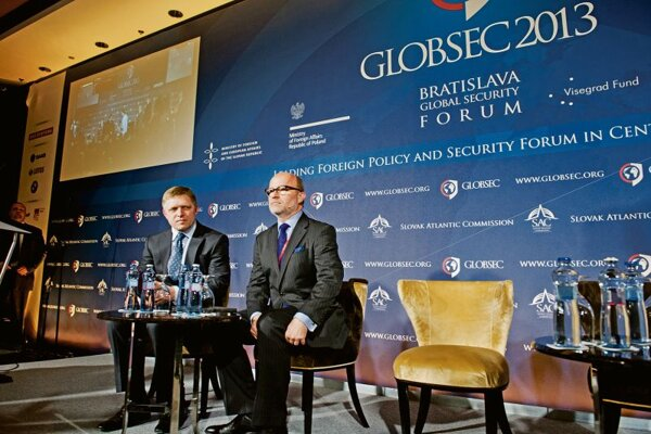 Picture from last year's GLOBSEC conference.