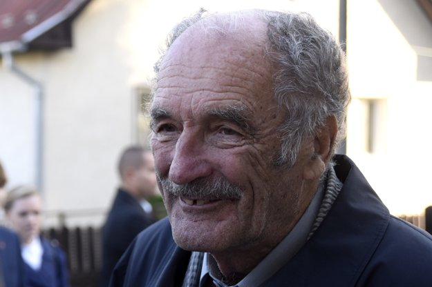 Ivan Štúr, oldest living descendant of the Štúr family, participated in the celebration.