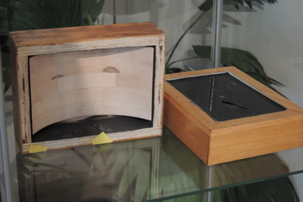 Camera obscura exhibited in Pohronské Museum in Nová Baňa